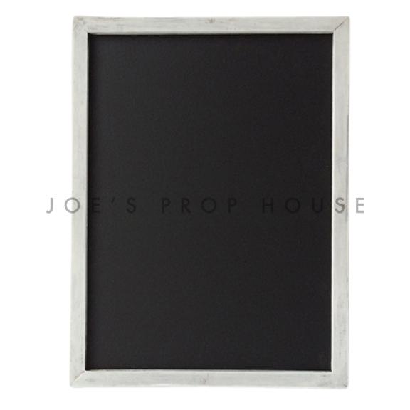 Holt Whitewash Simple Frame Chalkboard
