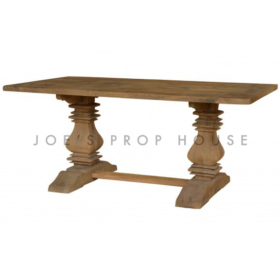 Reclaimed Rectangular Dining Table L108in x D40in x H30in
