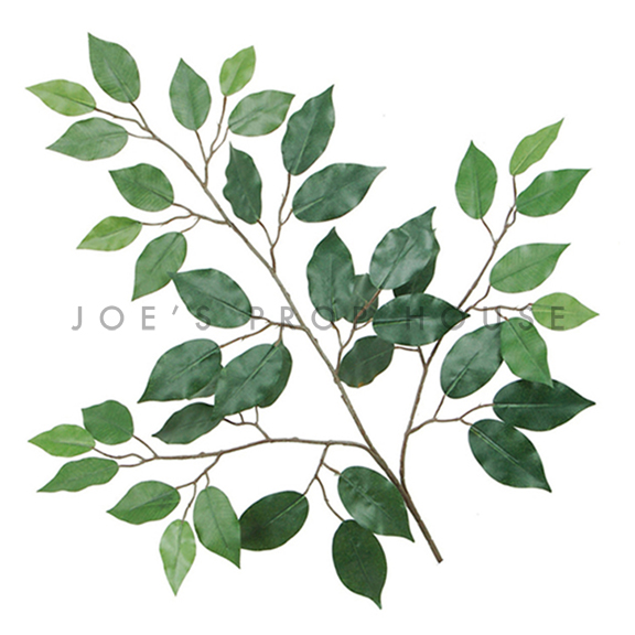 Artificial Green Leaves Branch