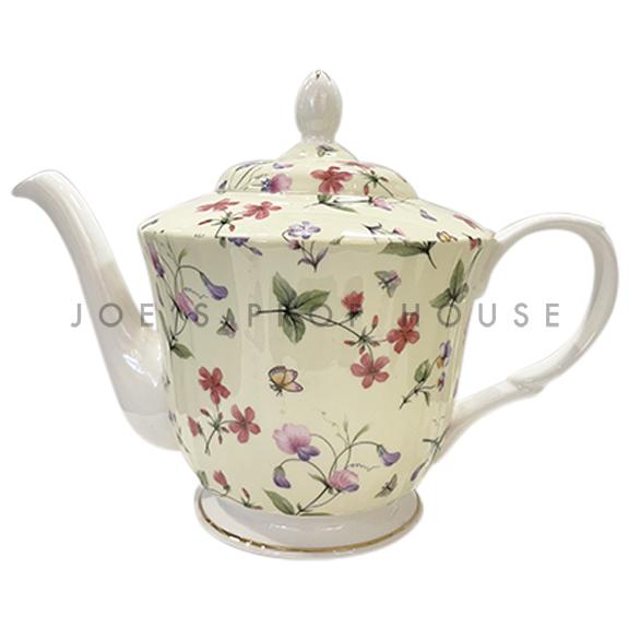 Maggie Floral Porcelain Teapot