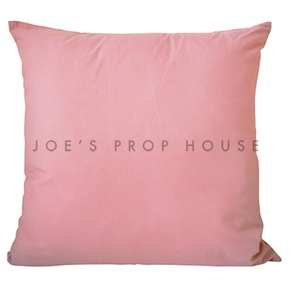 Bubblegum Cotton Accent Pillow
