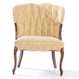 Louise Tufted Chair Gold