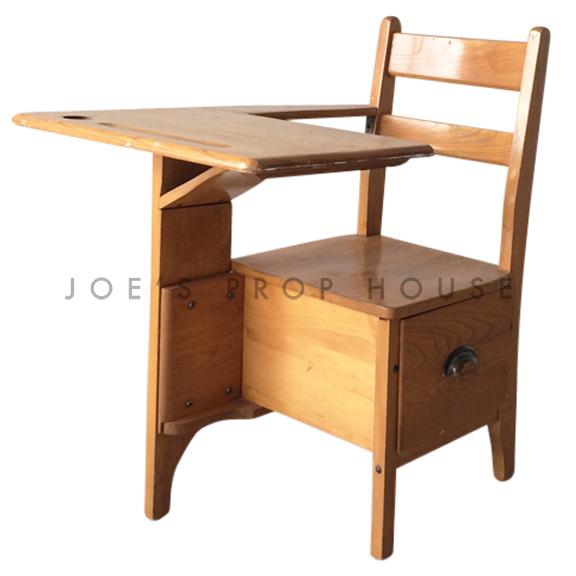 Abigail Vintage Wood Student Desk