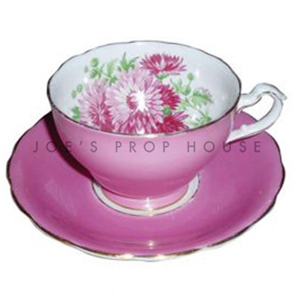 Solange Floral Teacup and Saucer