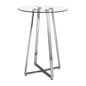 Round Glasstop Cruiser Table