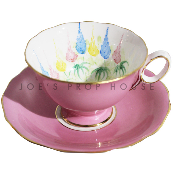 Lucille Floral Teacup and Saucer