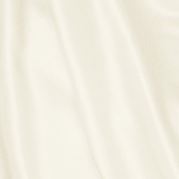 Ivory PEAU DE SOIE Tablecloth Round 132in