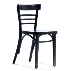 Charles Bistro Chair Black