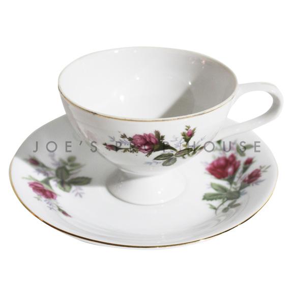 Anna Floral Teacup and Saucer