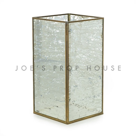 Givree Glass Lantern SHORT H11.5in