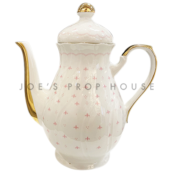 Abbey Porcelain Teapot