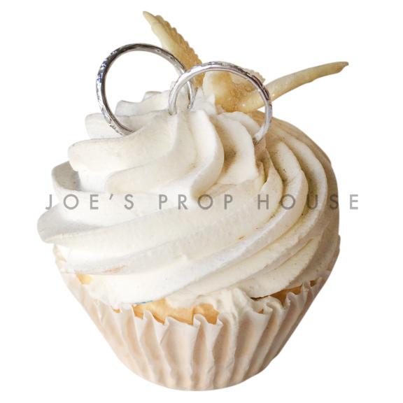 Vanilla Wedding Cupcake Dessert Prop