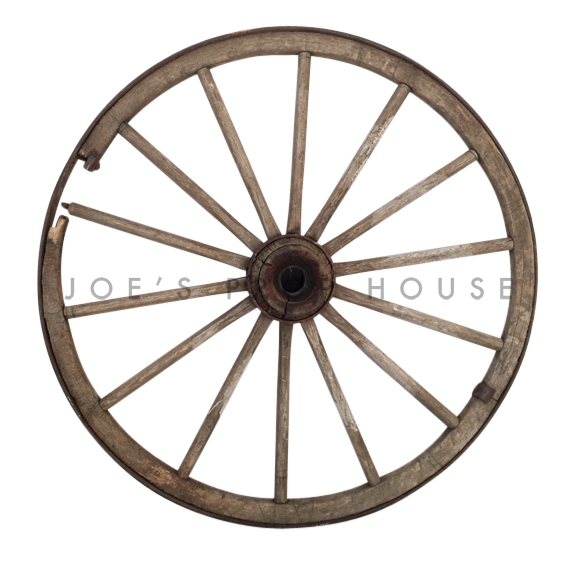 Old Wagon Wheel Large