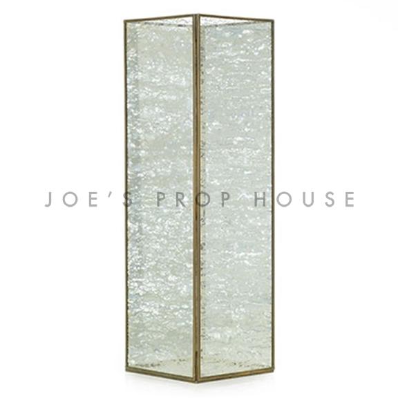 Givree Glass Lantern TALL H19.5in