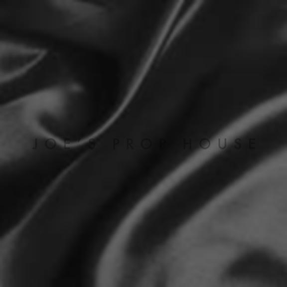 Black Satin Draping
