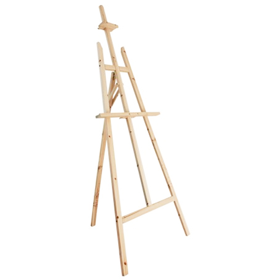 Wooden Easel Stand Natural