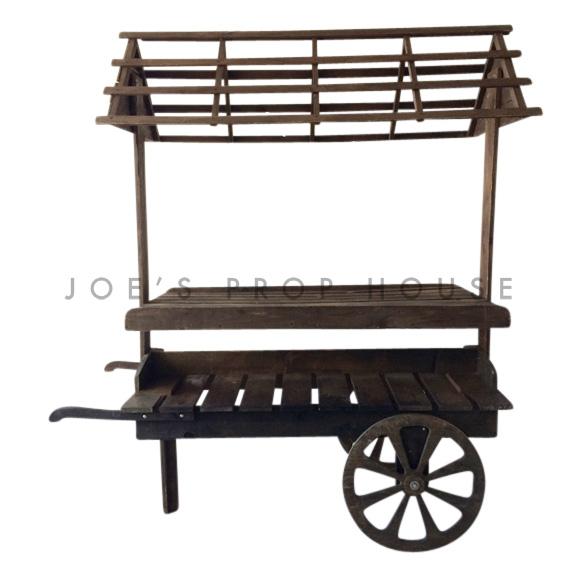 Wooden Market Cart
