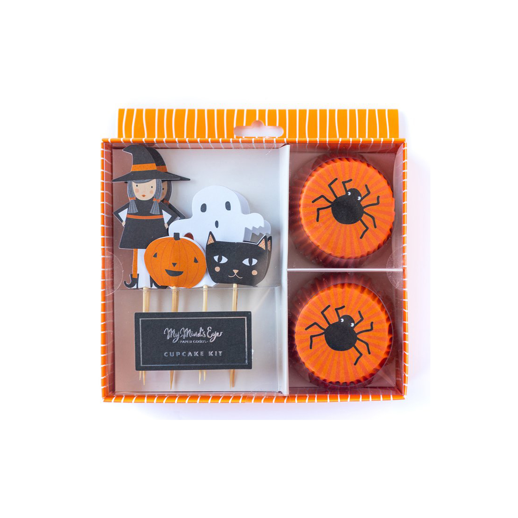 BUY ME / NEW ITEM $12.99 each Halloween Cupcake Kit Pack of 24 Liners + Toppers