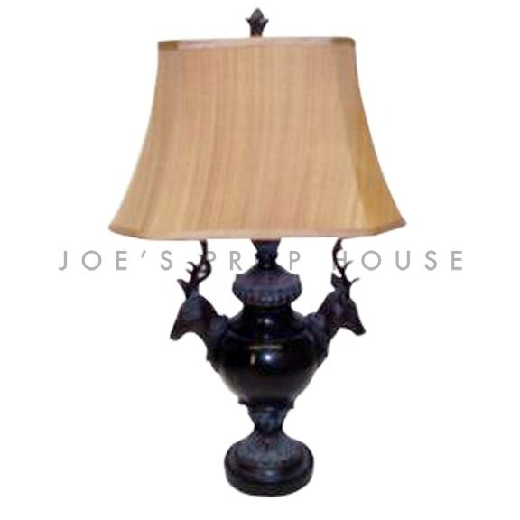 Deer Head Table Lamp