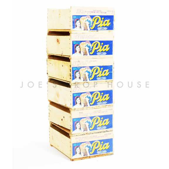 Wooden Pia Grape Crates