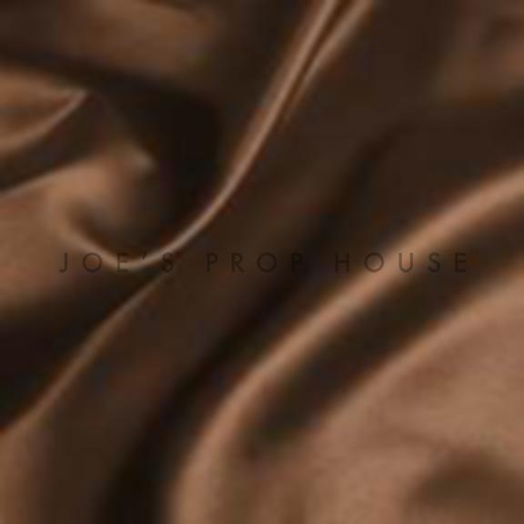 Chocolate Satin Draping