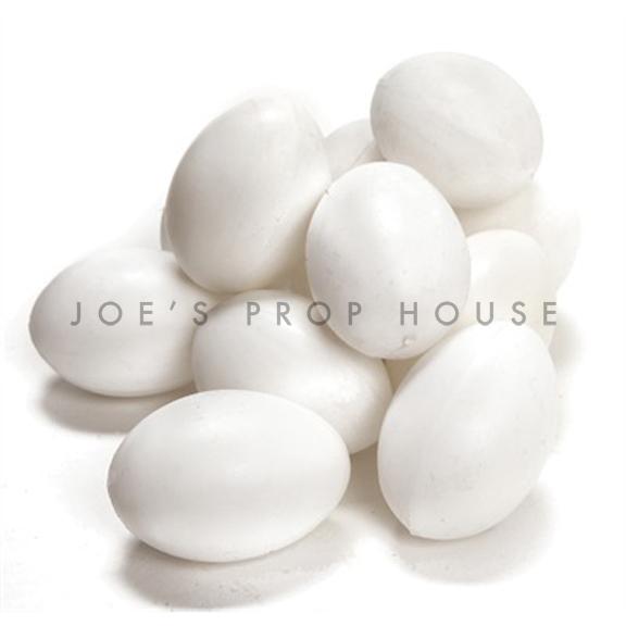 Artificial White Eggs
