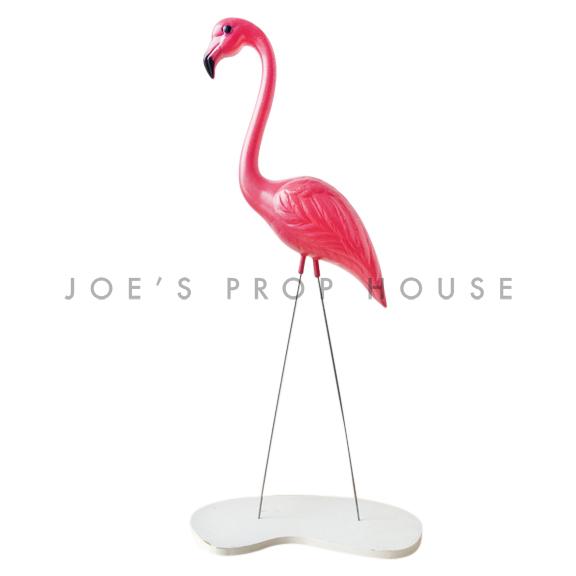 Fuchsia Flamingo w/base
