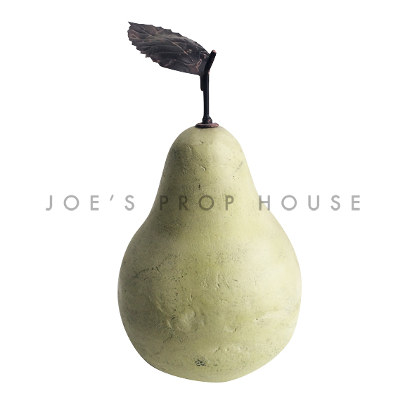 Giant Prop Pear w/Stem and Leaf