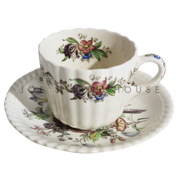 Paige Floral Teacup and Saucer