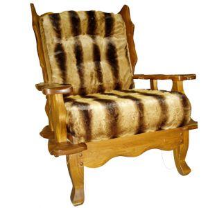 Faux-Fur Armchair