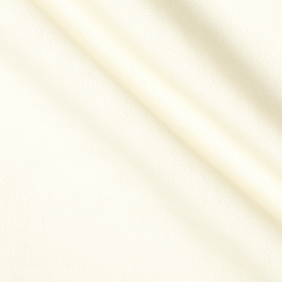 Ivory POLYESTER Tablecloth Round 90in