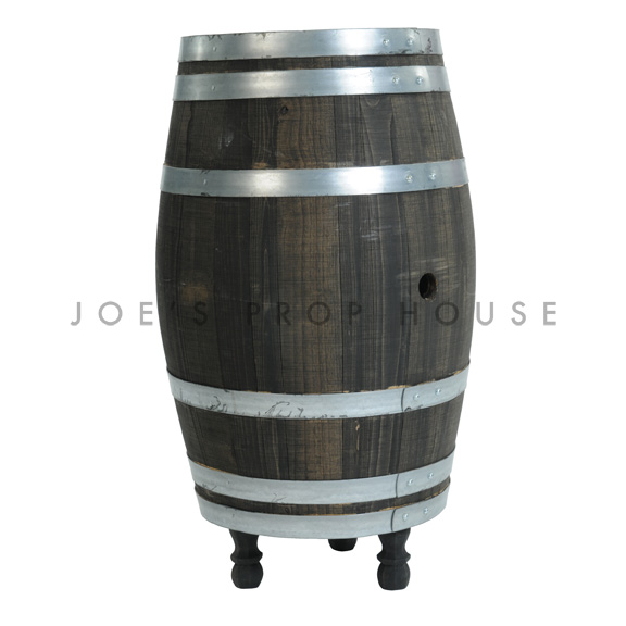 Dark Brown Wine Barrel
