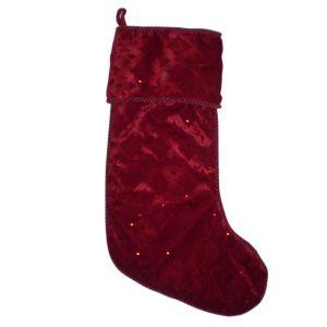 Red Diamond Christmas Stocking