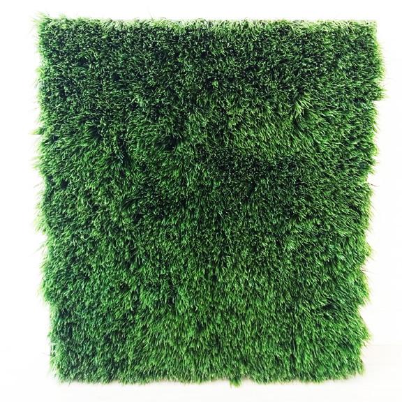 Artificial Long Blade Grass Rectangular Panel Green