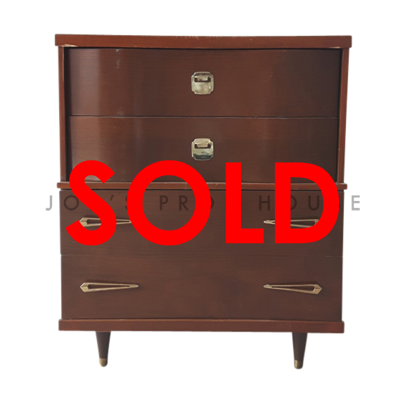 BUY ME / USED ITEM $95.00 Darnell Chest of Drawers Brown