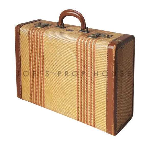 Lawrence Double Pinstripe Hardshell Suitcase SMALL