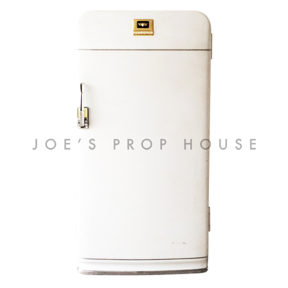 Retro FRIGIDAIRE Single Door Refrigerator White - PROP ONLY