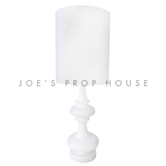 Bianca Damask Table Lamp White