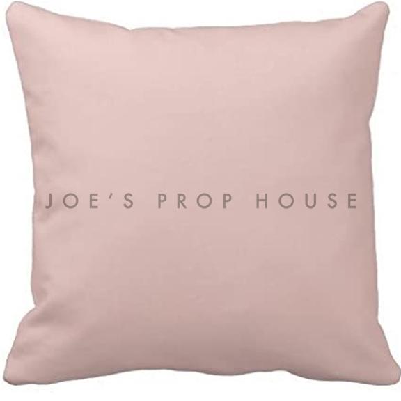 Blush PEAU DE SOIE Accent Pillow