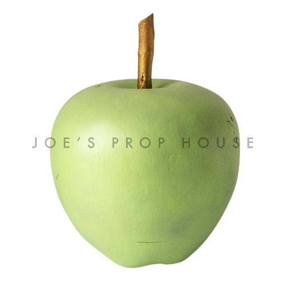 Giant Green Apple w/Stem