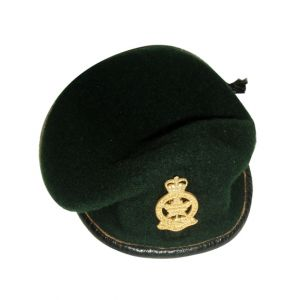 Felt Military Beret Green
