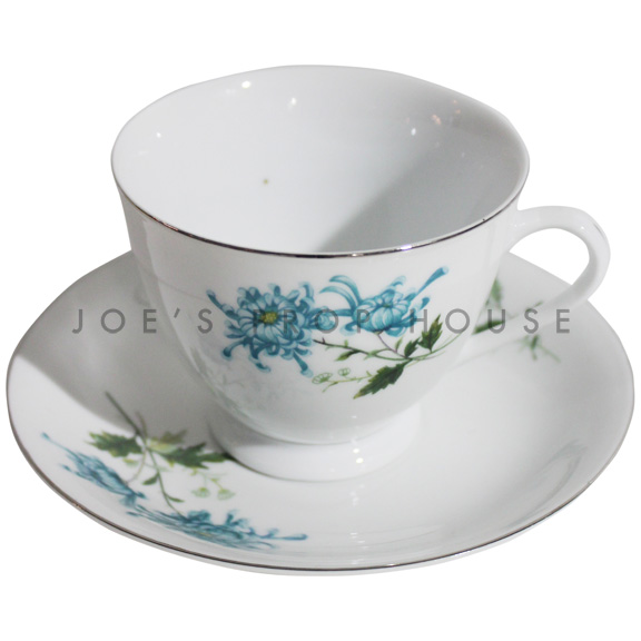 Gemma Floral Teacup and Saucer